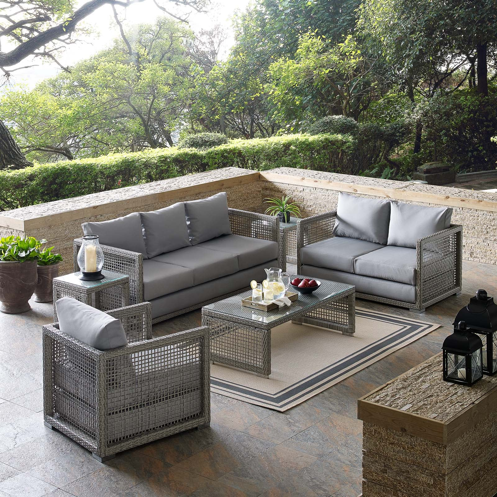 Anguilla 6-Piece Outdoor Deep Seating Set