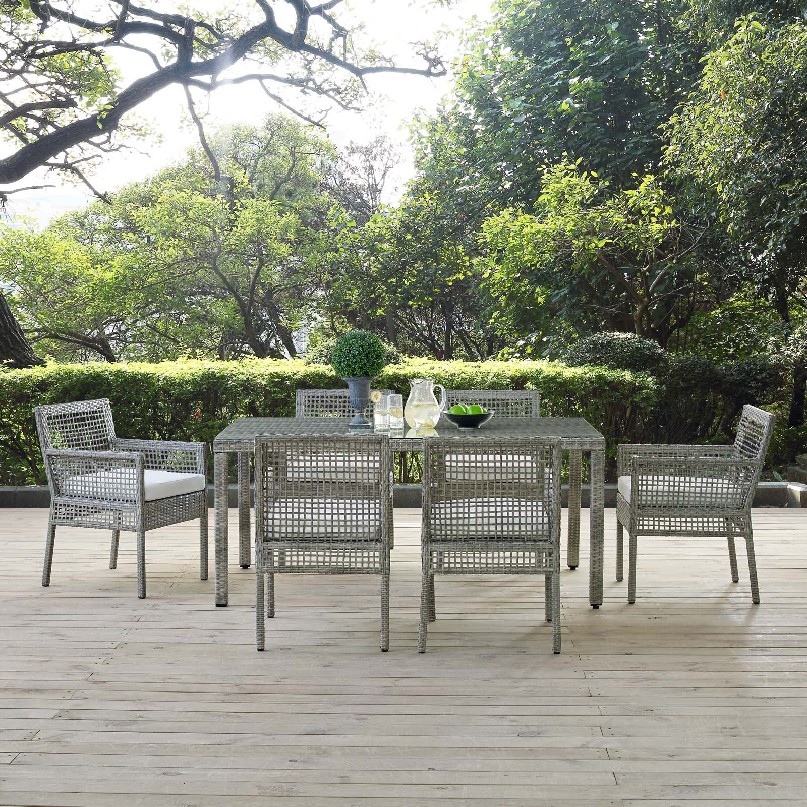 Anguilla 7-Piece Outdoor Dining Set