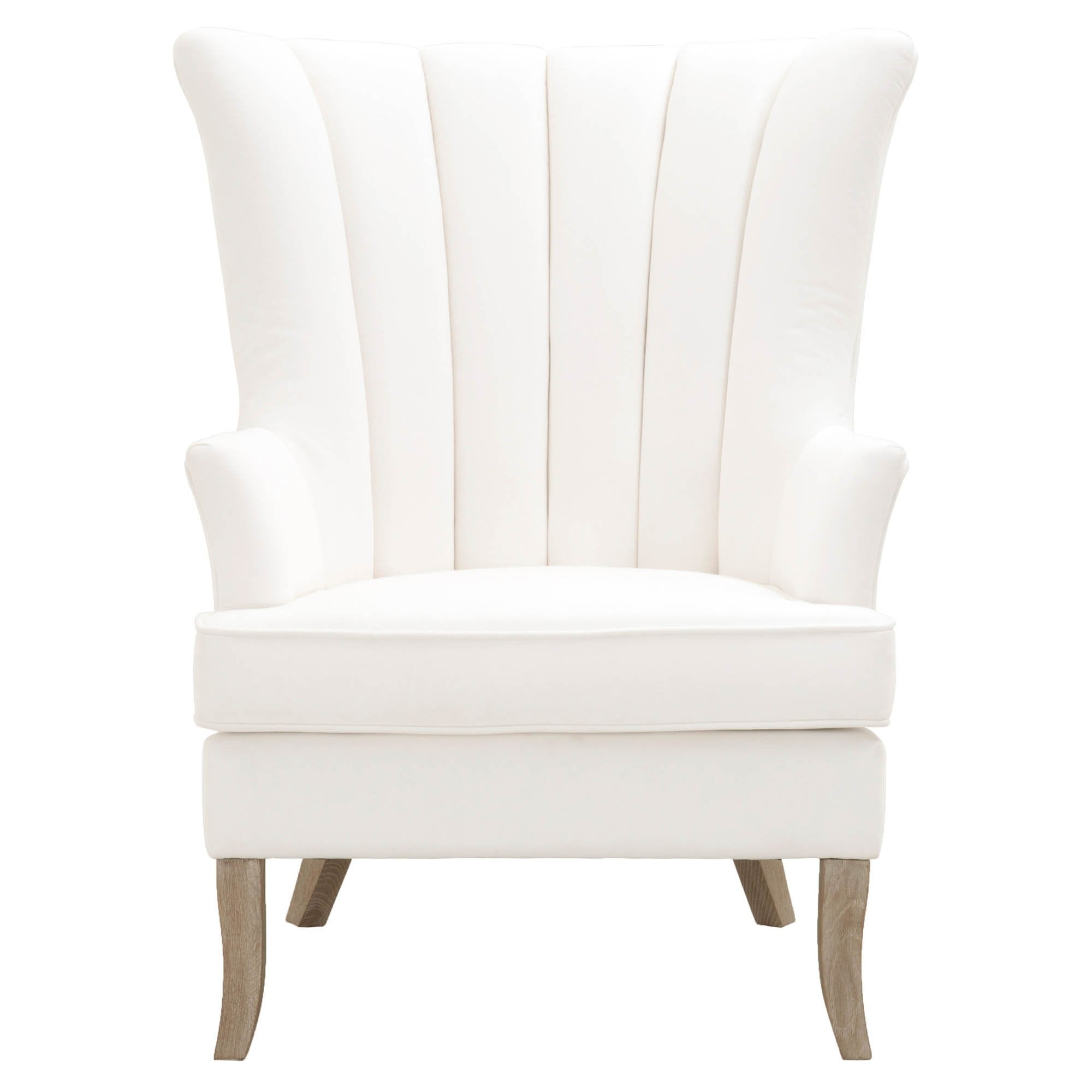 Everly Club Chair in LiveSmart Peyton-Pearl