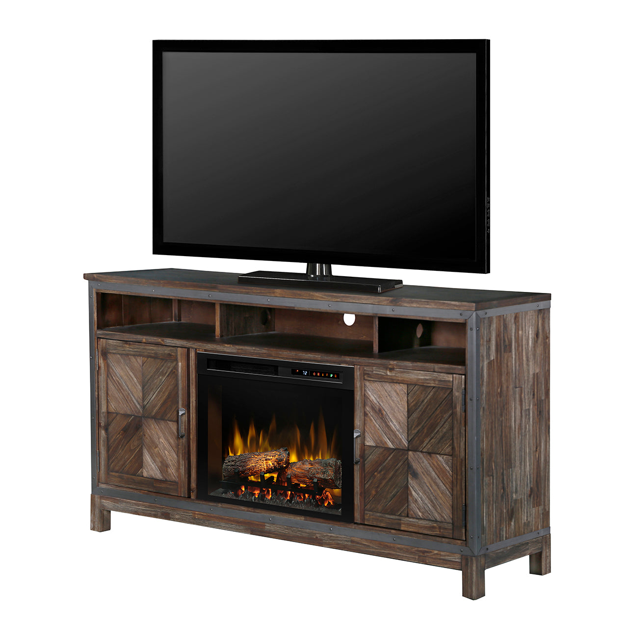 Napoli Media Console Electric Fireplace
