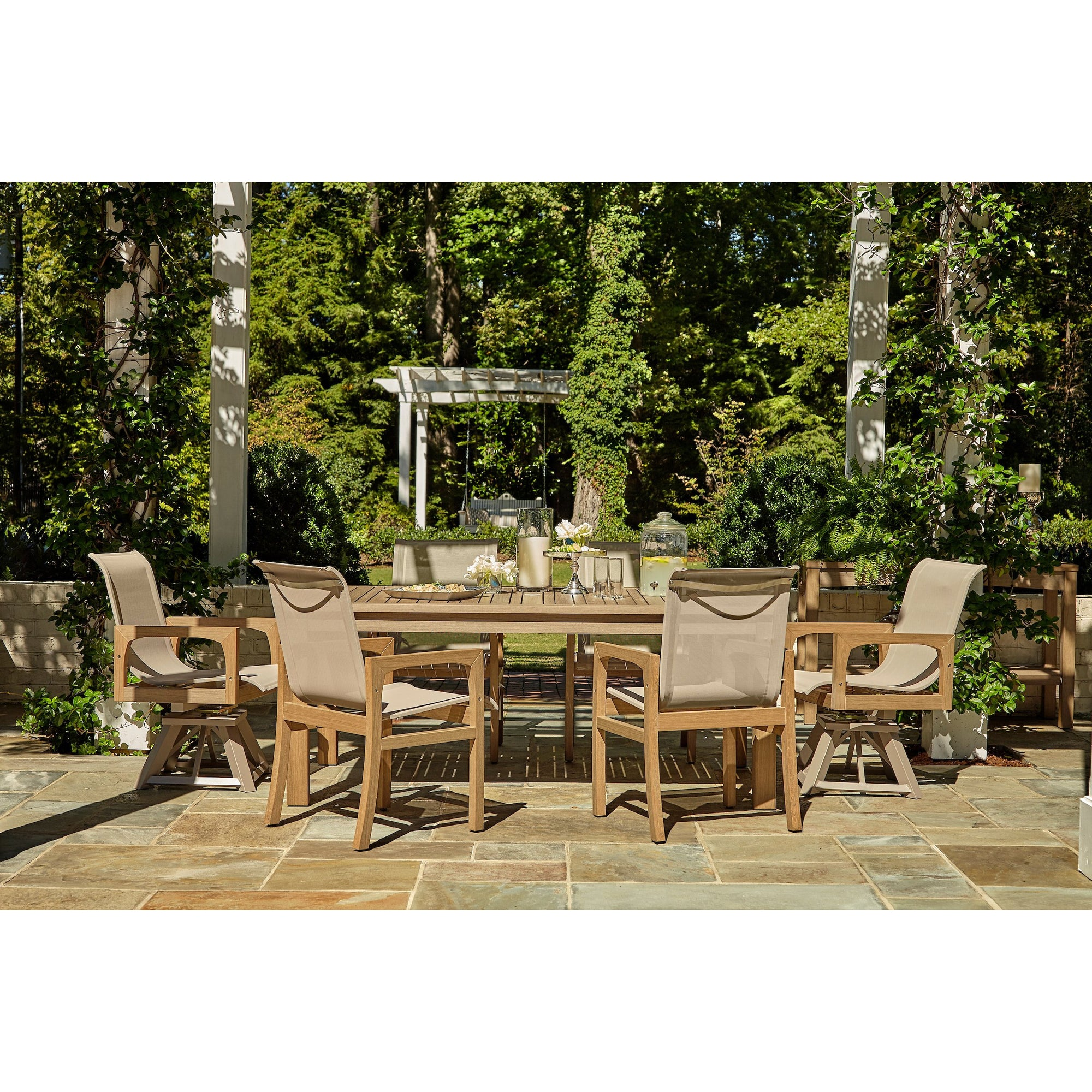 "PolyTeak 92"" Outdoor Dining Set"