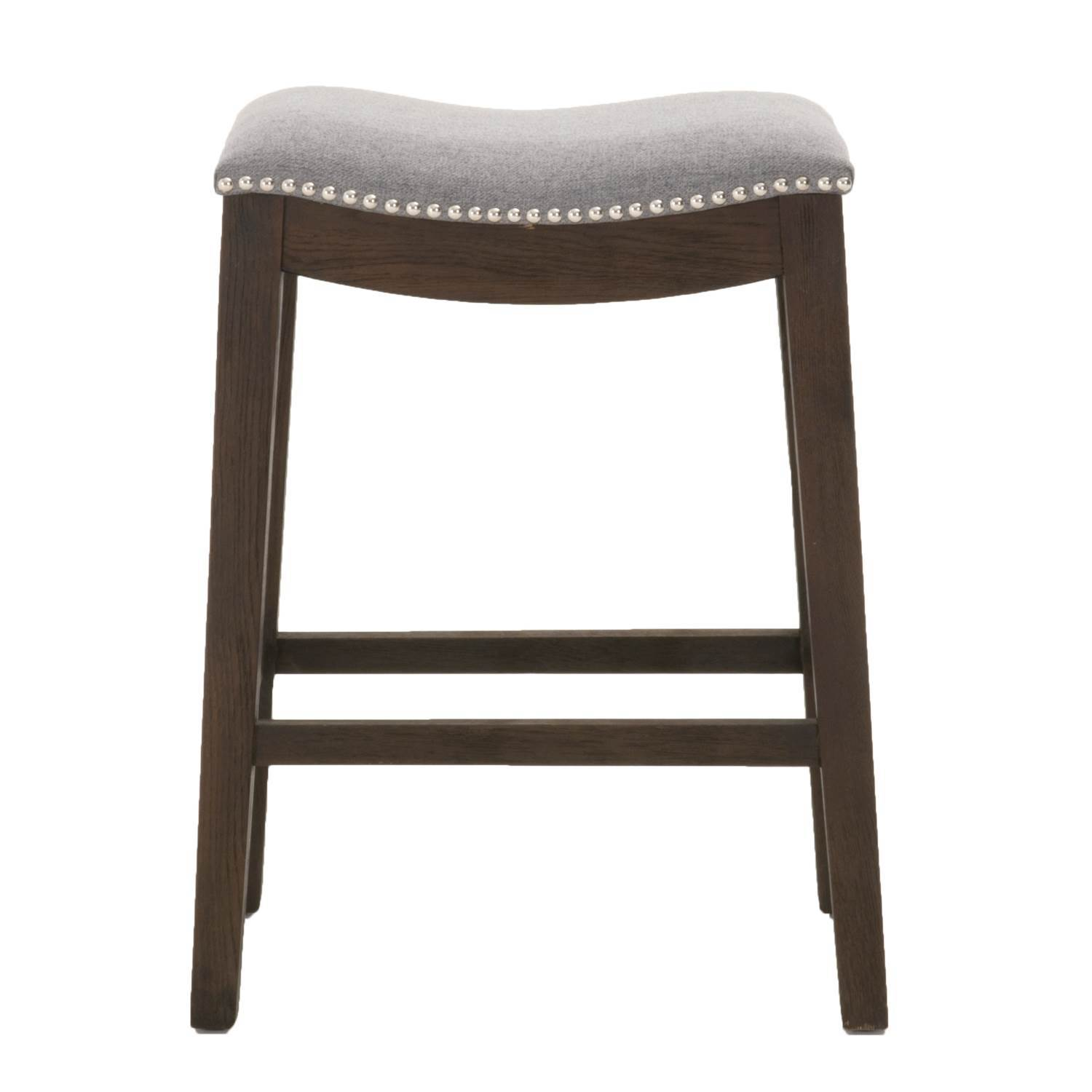 Harper Counter Stool in Earl Gray Fabric