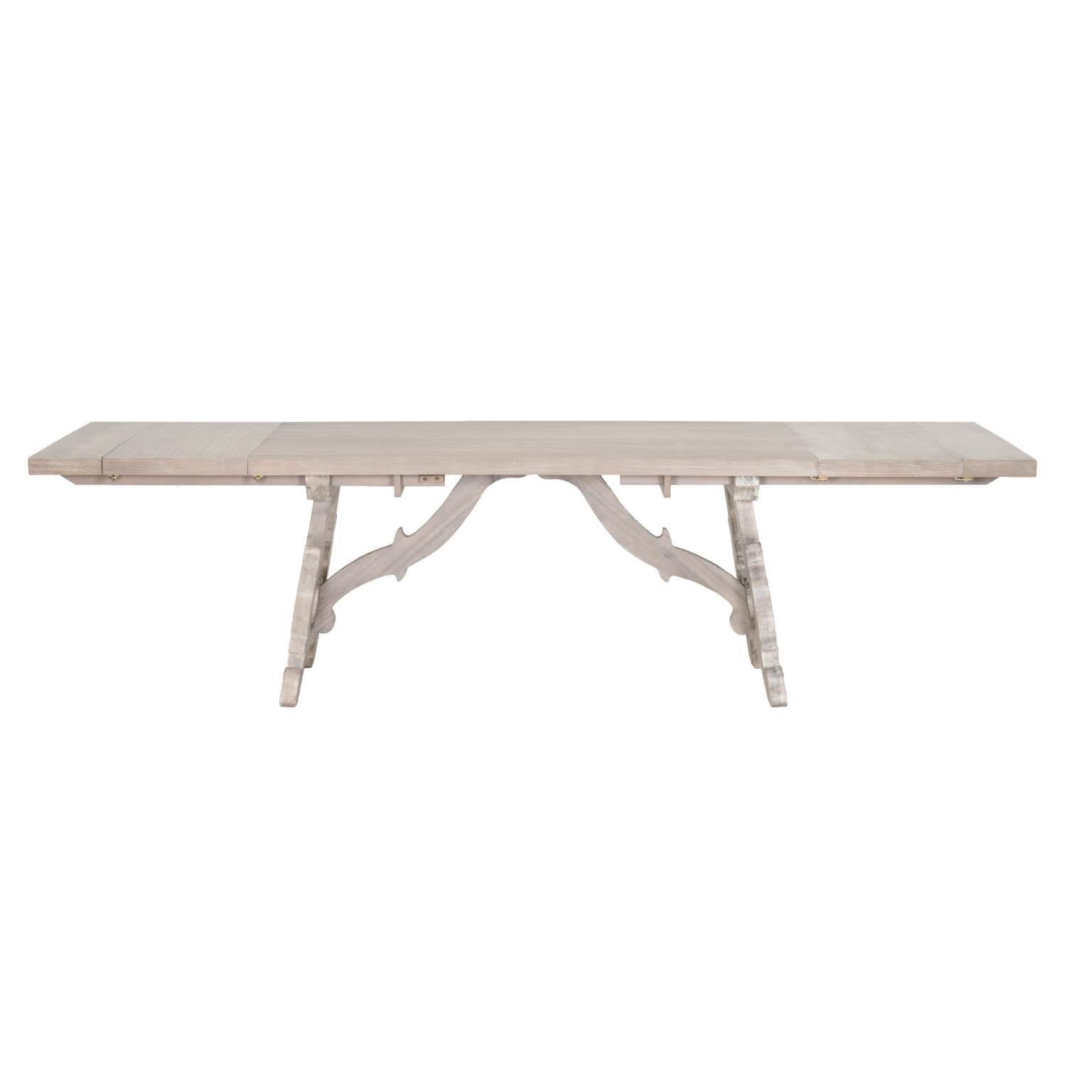 Haute Extension Dining Table in Natural Gray