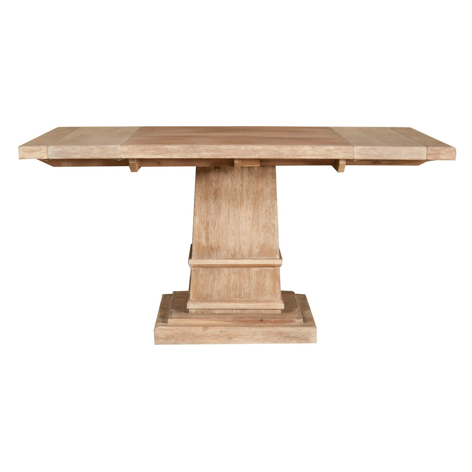 "Hudson 44"" Square Extension Dining Table in Stone Wash"
