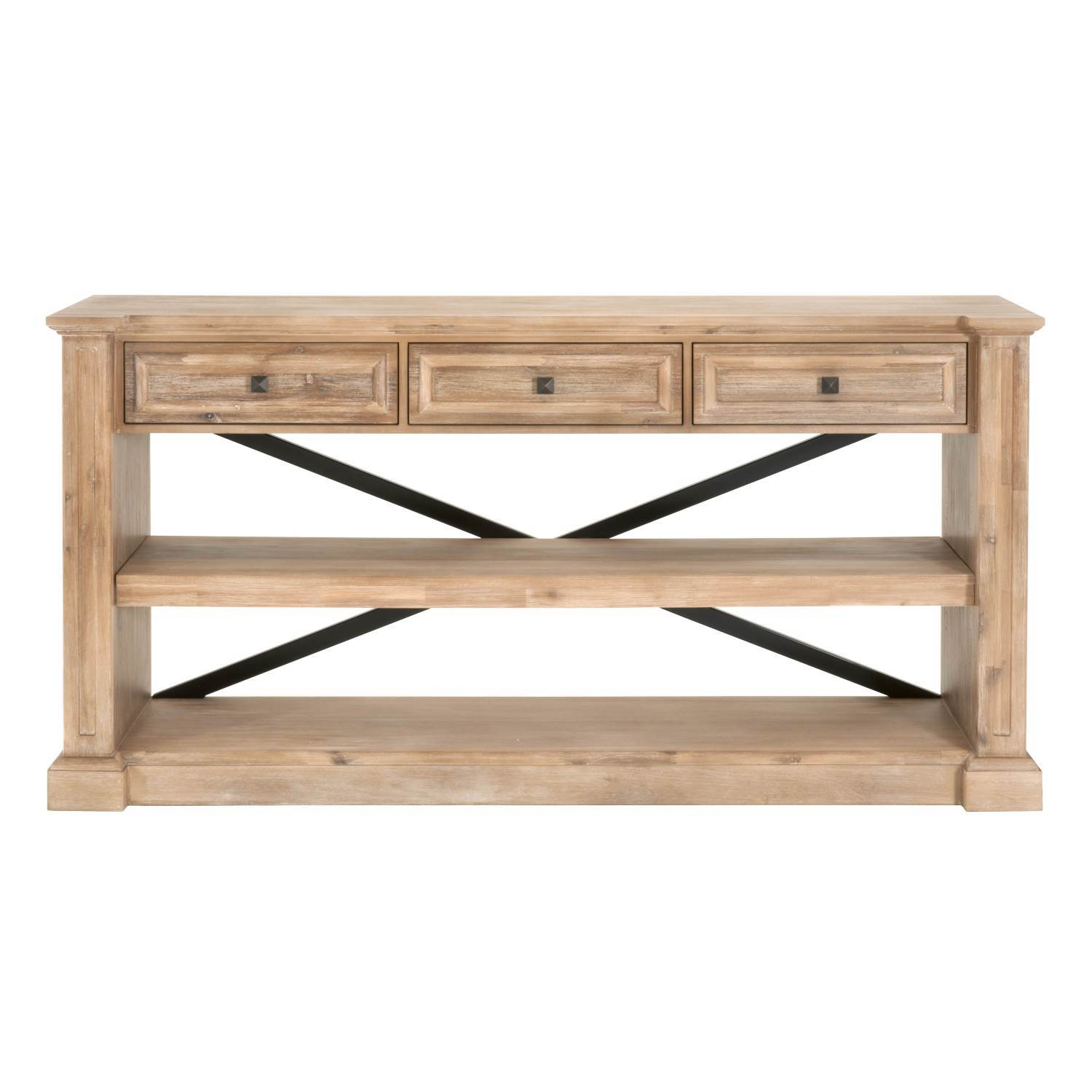 Hudson Dining Console in Stone Wash