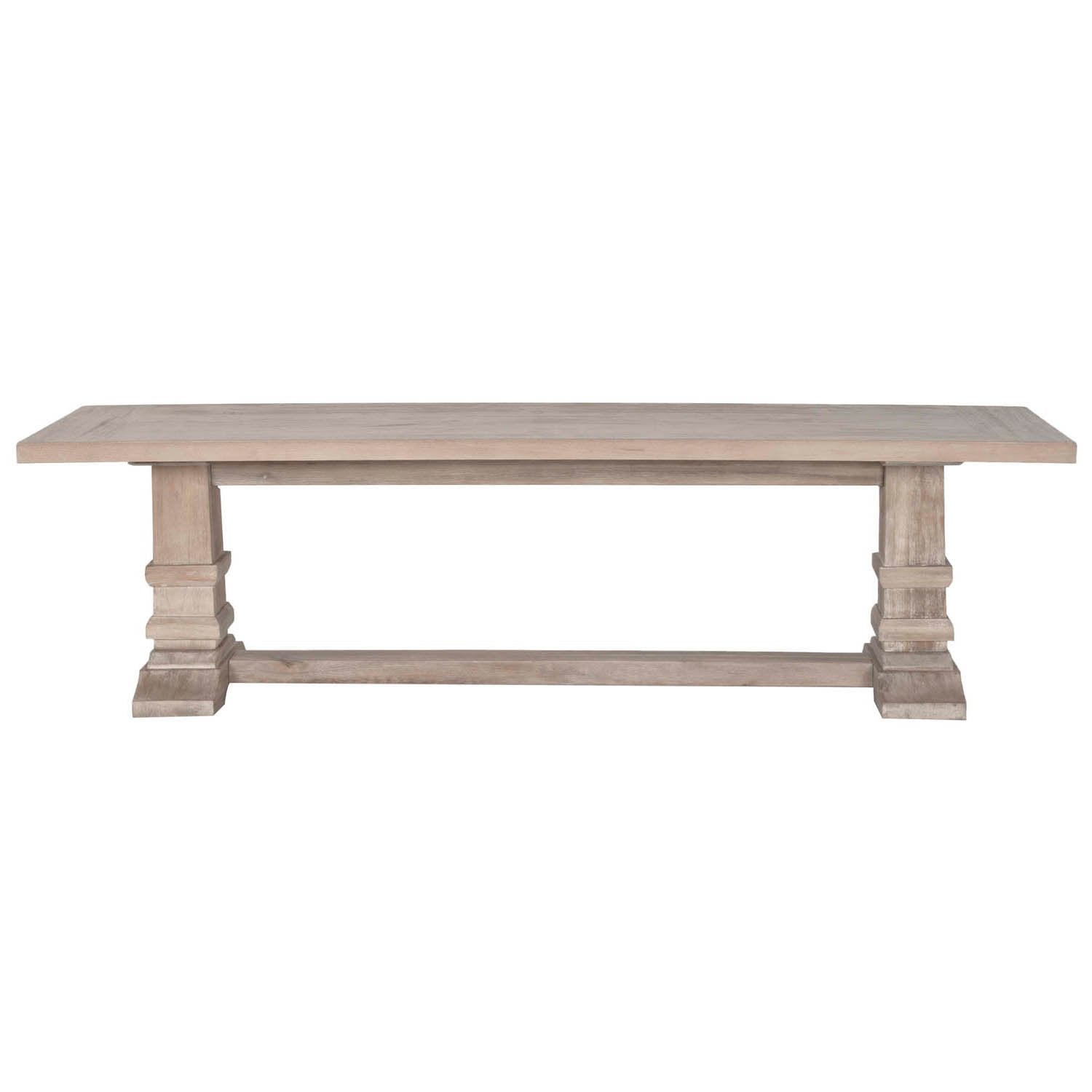 Hudson Large Dining Bench in Stone Wash