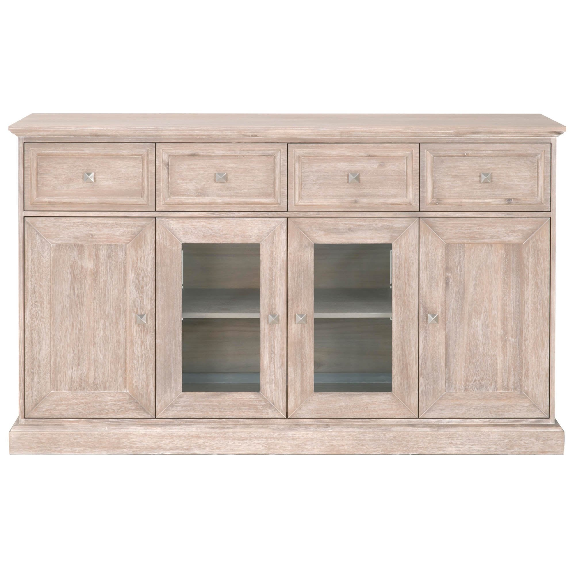 Hudson Media Sideboard in Acacia Veneer