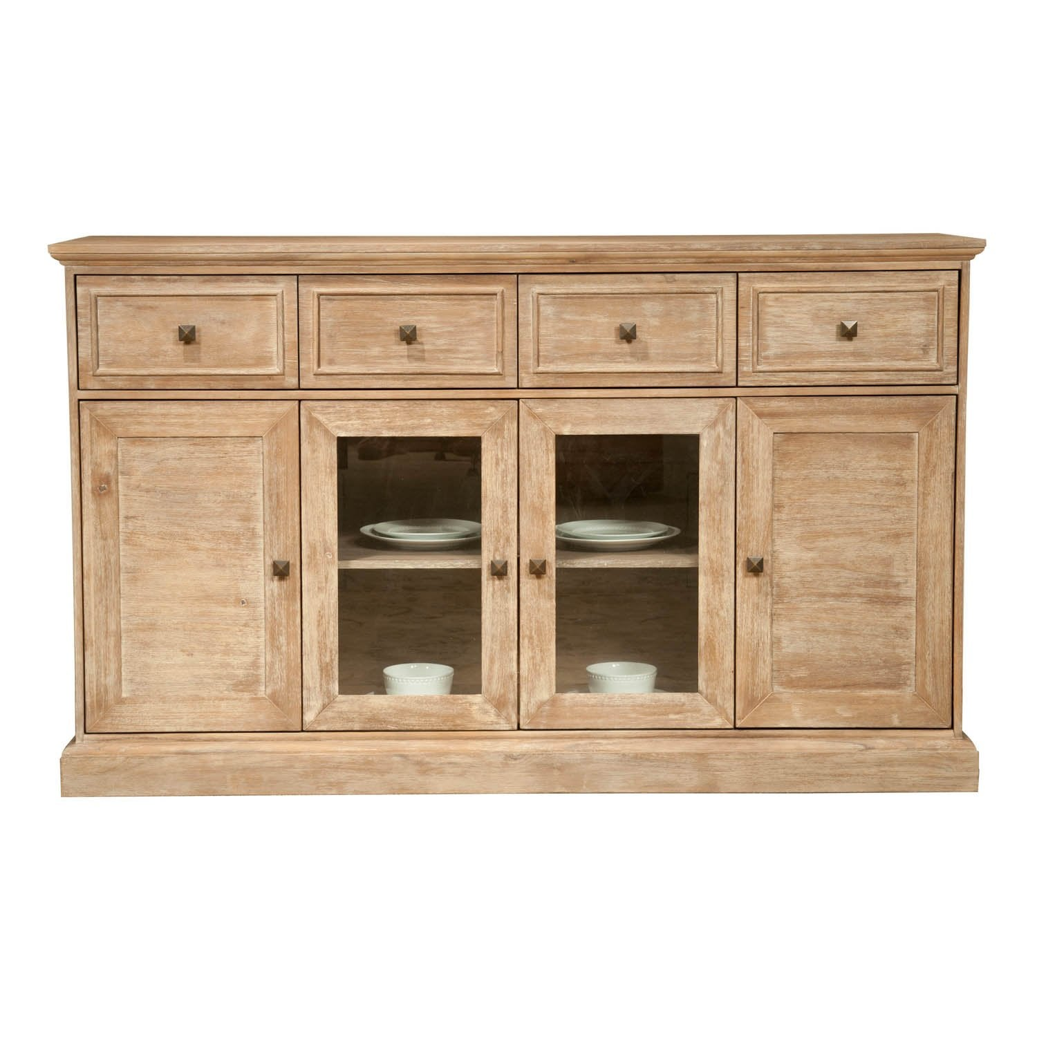 Hudson Media Sideboard in Stone Wash