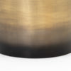 Cameron Ombre Bunching Table - Ombre Brass