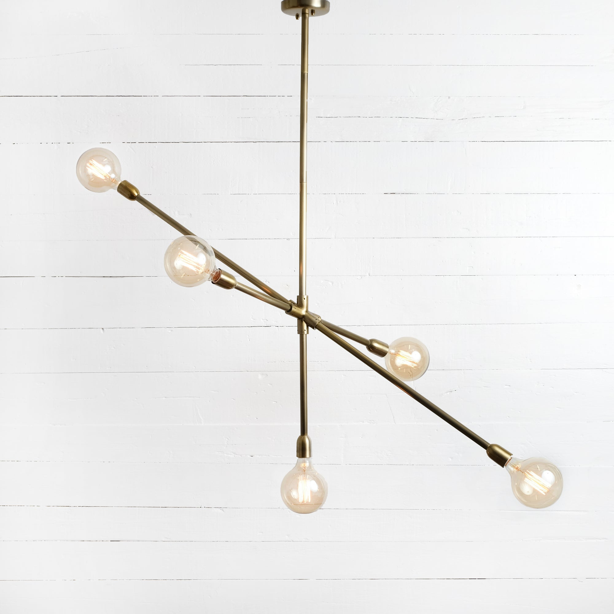 Thalia Chandelier - Antique Brass
