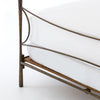 Westwood King Bed - Antique Brass