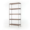 Simien Bookshelf - Gunmetal