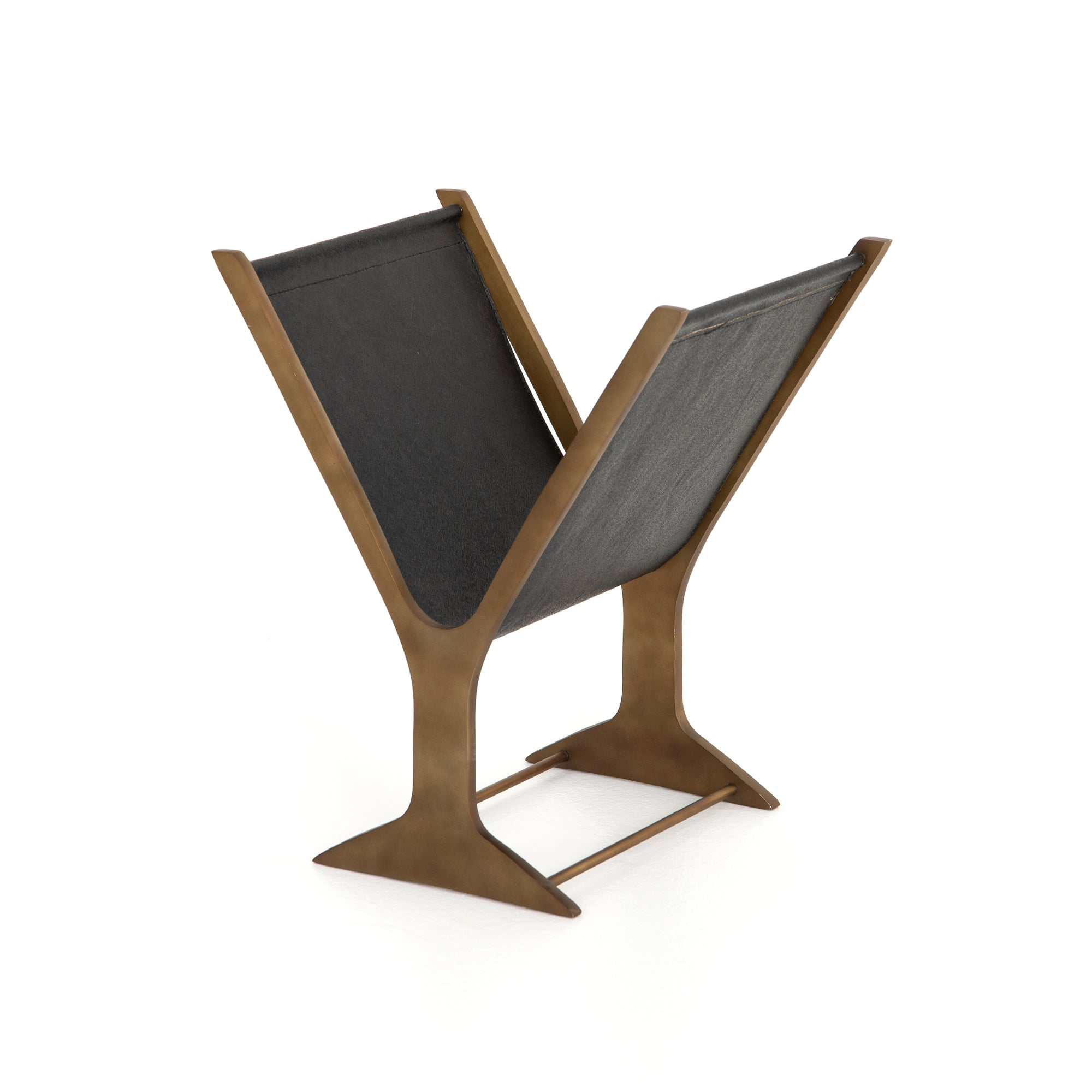 Feldman Magazine Rack - Black