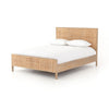Sydney Queen Bed - Natural