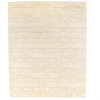 Beige Diamond Stripe Rug, 5x8'