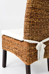 Banana Leaf Chair W/Cushion - Natural