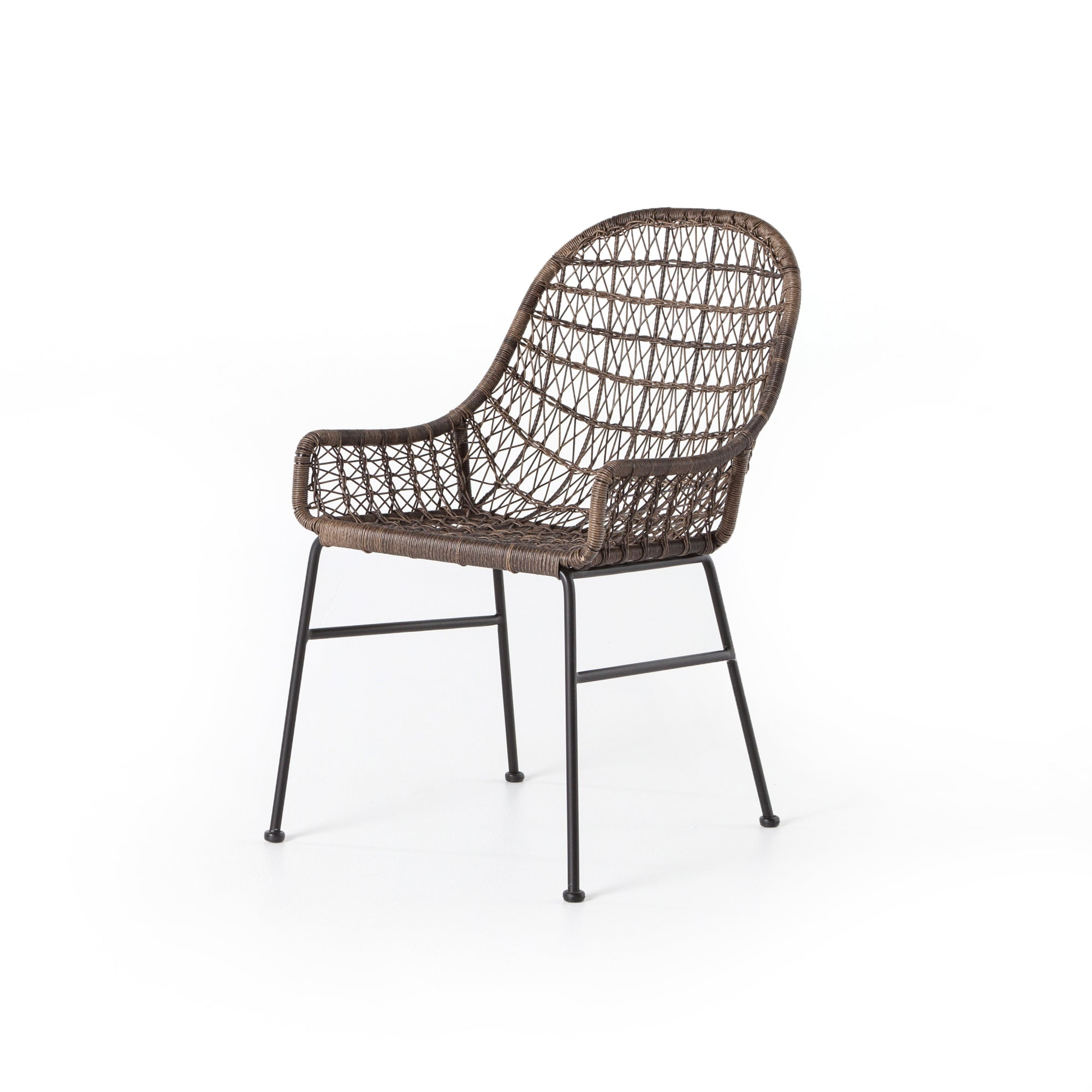 Bandera Outdoor Dining Chair Low Arm - Gre