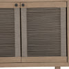 Alma Outdoor Small Cabinet - Washed Brn