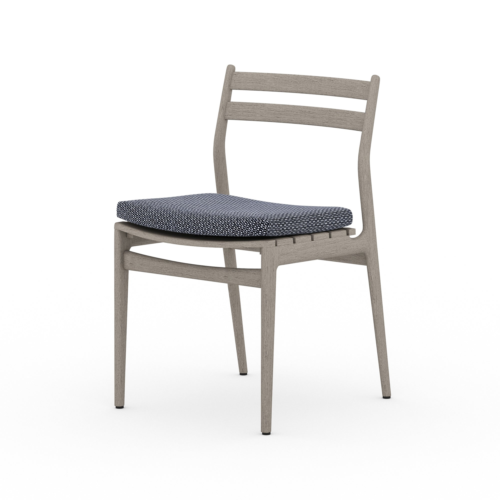Atherton Outdoor Dining Chair - Grey/Navy