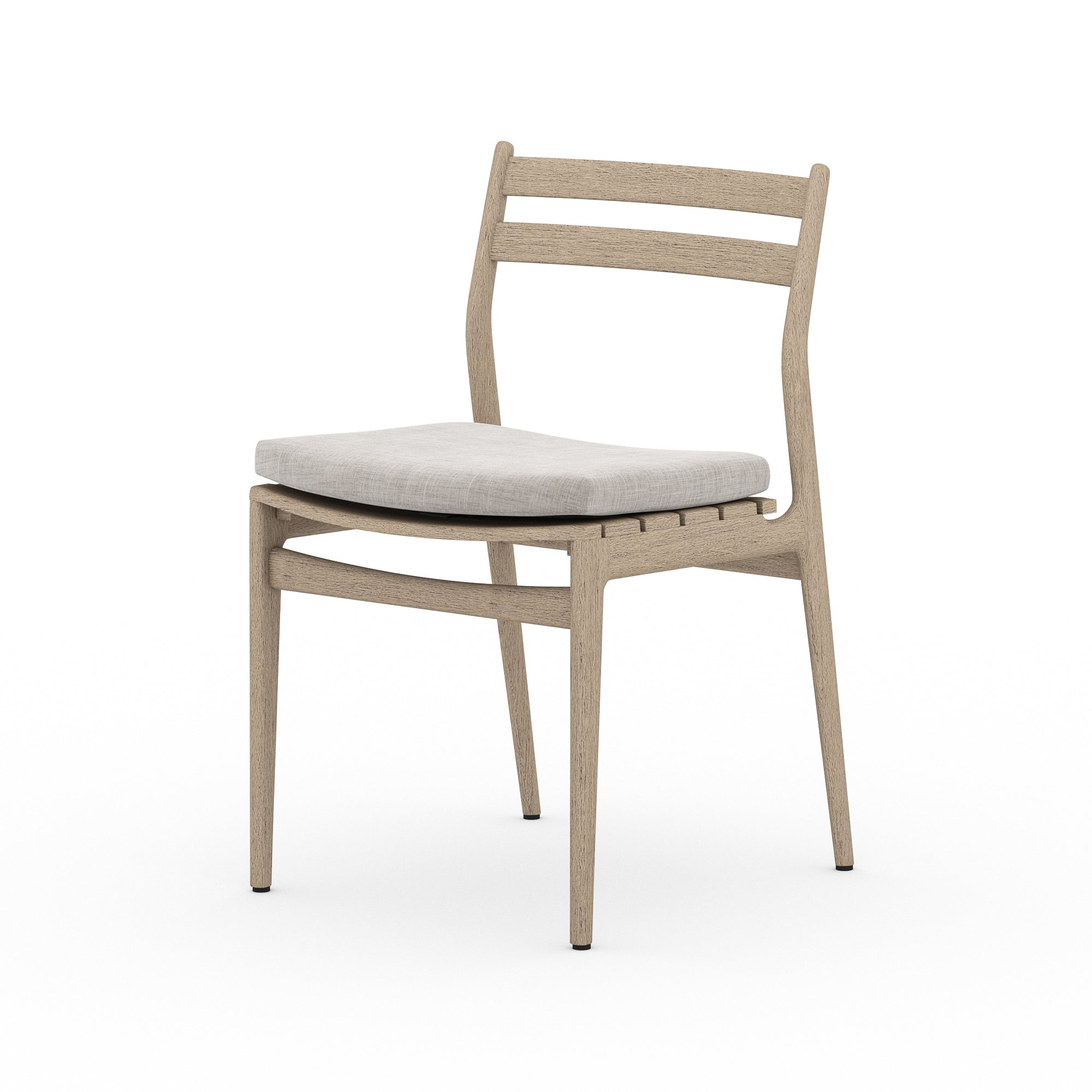 Atherton Outdoor Dining Chair - Brown/Ston