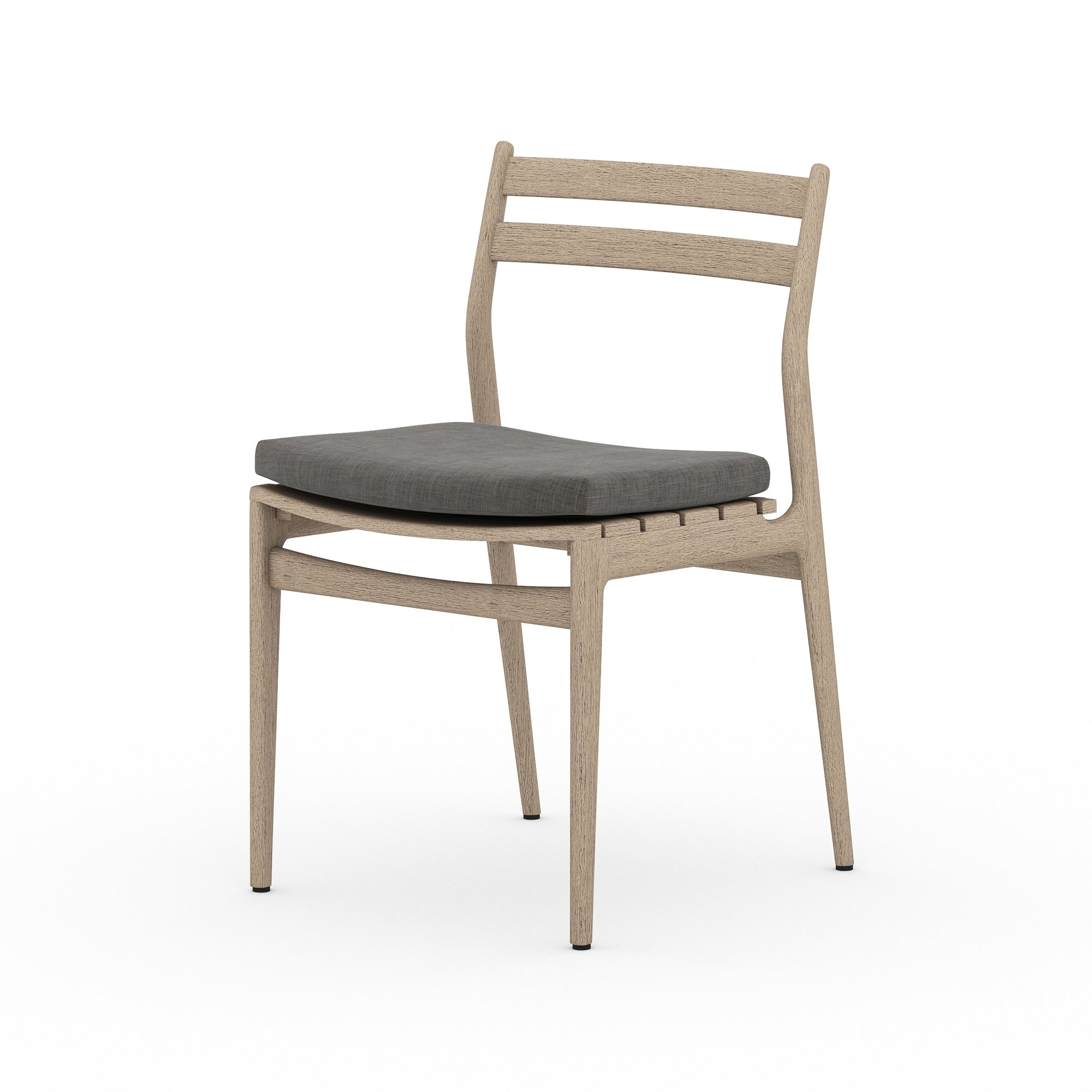 Atherton Outdoor Dining Chair - Brown/Char