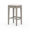 Dale Outdoor Bar Stool - Grey/Stone Grey
