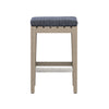 Dale Outdoor Counter Stool - Brown/Navy