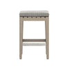 Dale Outdoor Counter Stool - Brown/Ash
