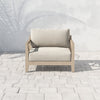 Huntington Outdoor Chair - Brown/Faye Sand