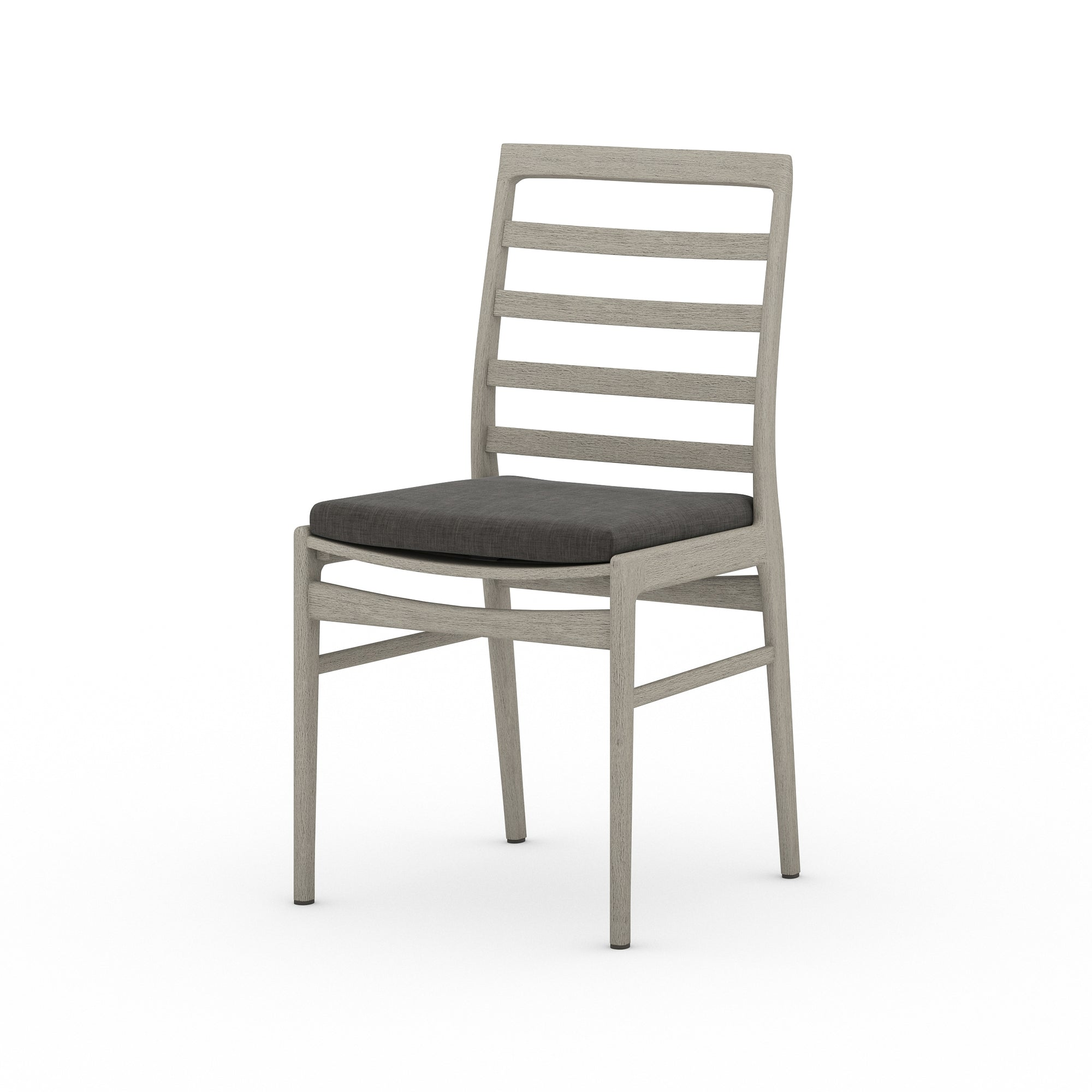 Linnet Outdoor Dining Chair - Grey/Charcoa