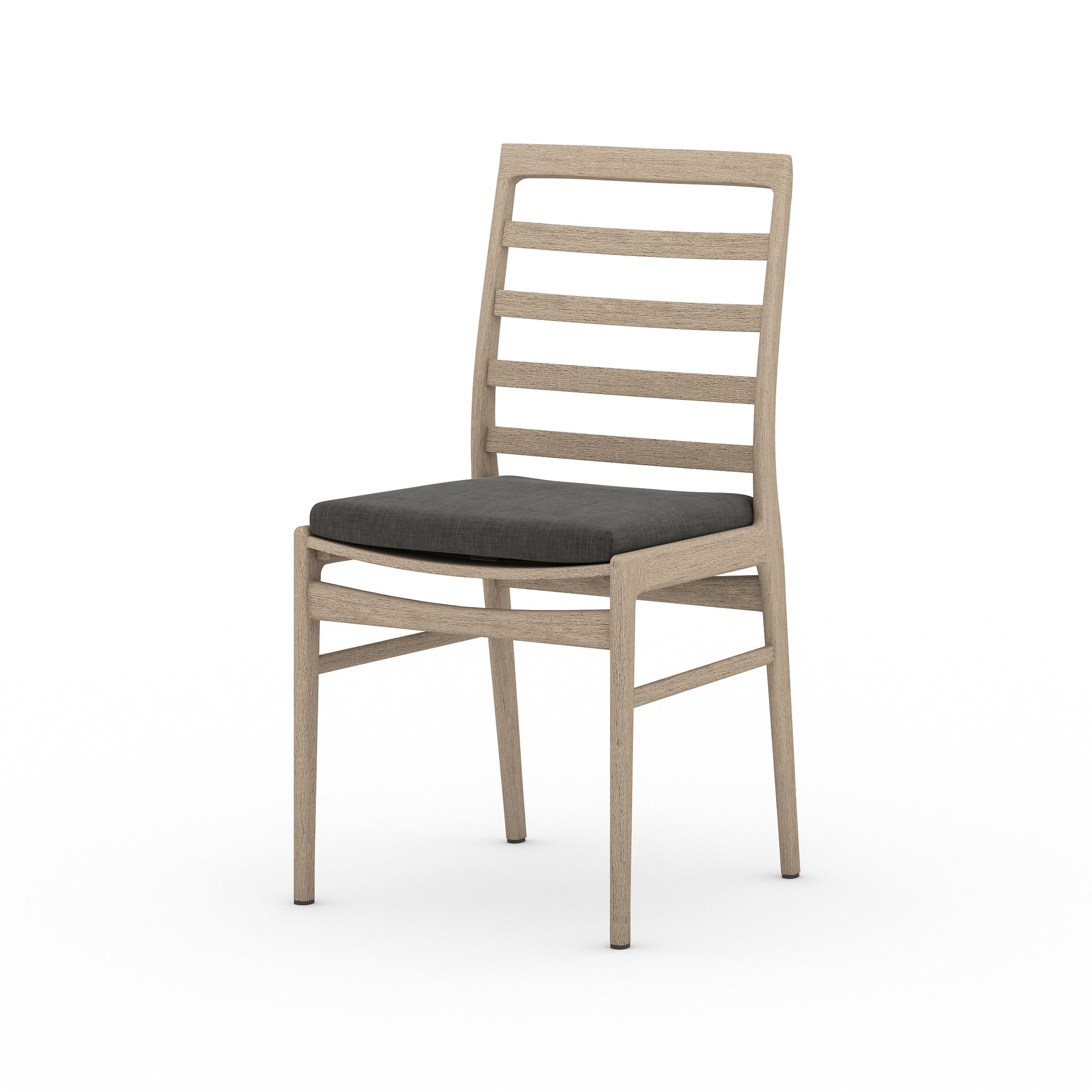 Linnet Outdor Dining Chair - Brown/Charcoa