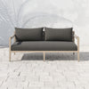 "Sherwood Outdoor Sofa - 63"" - Brown/Charcoal"