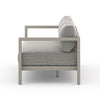 "Sonoma Outdoor Sofa - 88"" - Grey/Faye Ash"