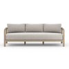 "Sonoma Outdoor Sofa - 88"" - Brown/Stone Grey"