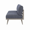 "Tilly Outdoor Sofa - 60"" - Grey/Faye Navy"