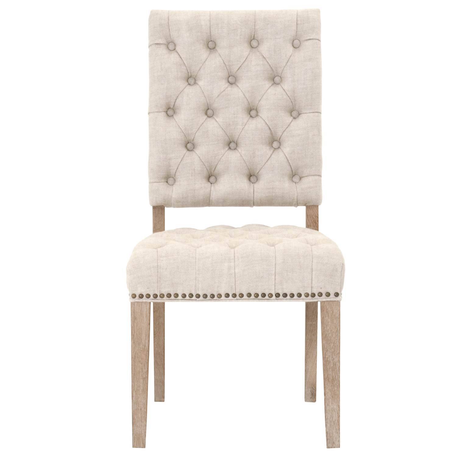 James Dining Chair (Set of 2) in Bisque French Linen