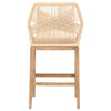 Loom Barstool in Sand Rope