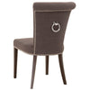 Luxe Dining Chair (Set of 2) in Sepia Fabric