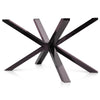 Mantis Rectangle Dining Table Base in Black Stainless Steel