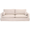 "Maxwell 89"" Sofa in Bisque French Linen"
