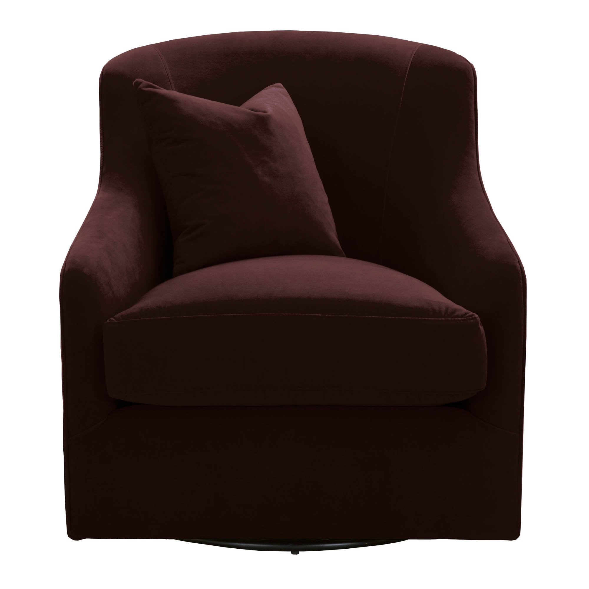 Mona Swivel Club Chair in