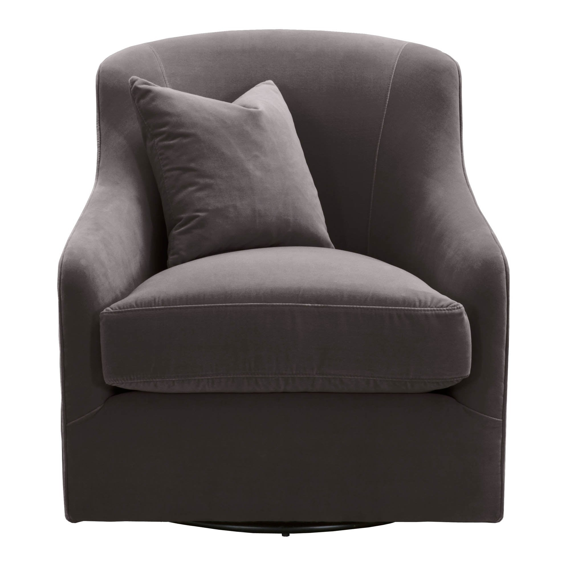 Mona Swivel Club Chair in 10.9% Polyester