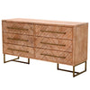 Mosaic Double Dresser in Stone Wash