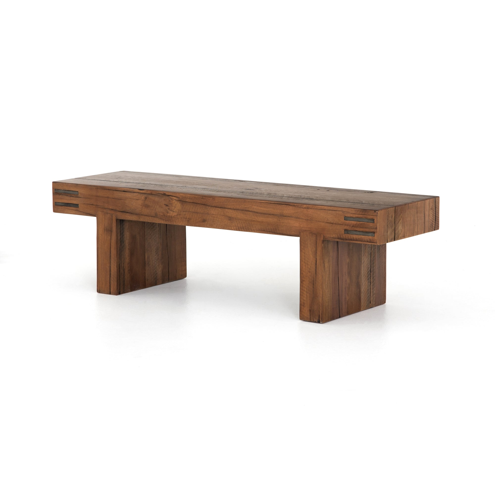 Nolan Accent Bench - Natural Brown