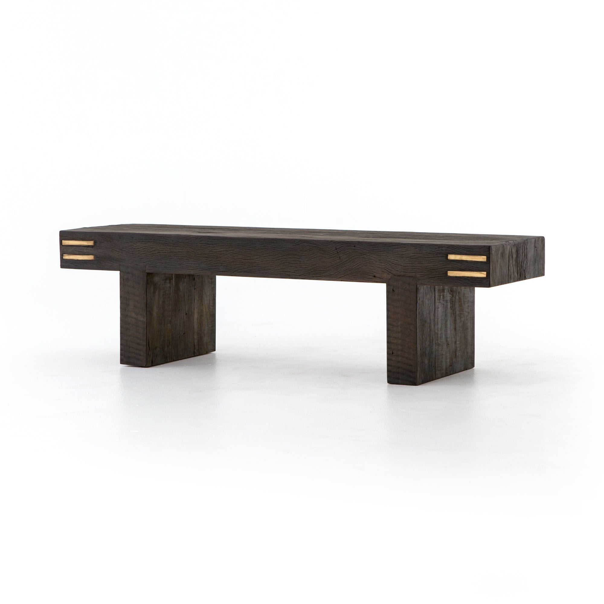 Nolan Accent Bench - Black Peroba