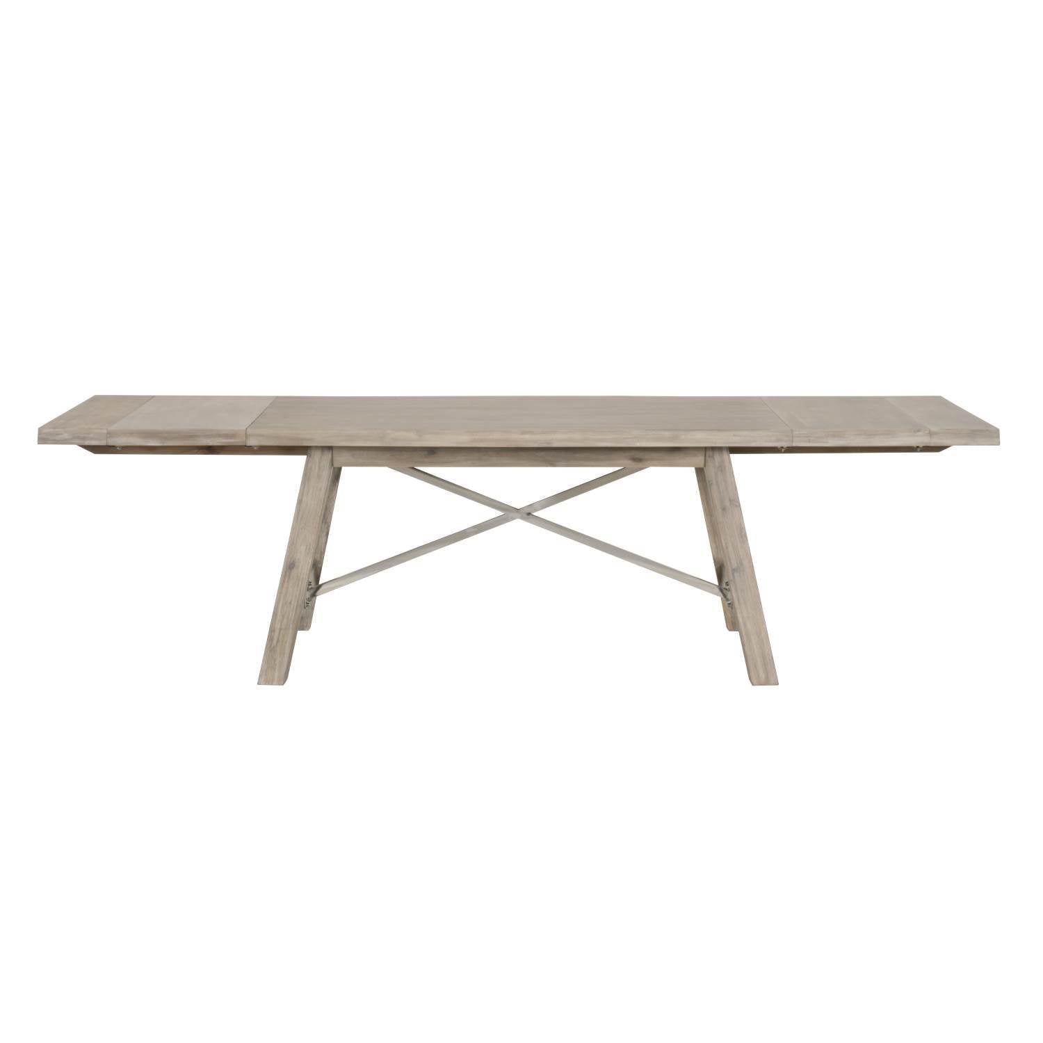 Nixon Extension Dining Table in Natural Gray