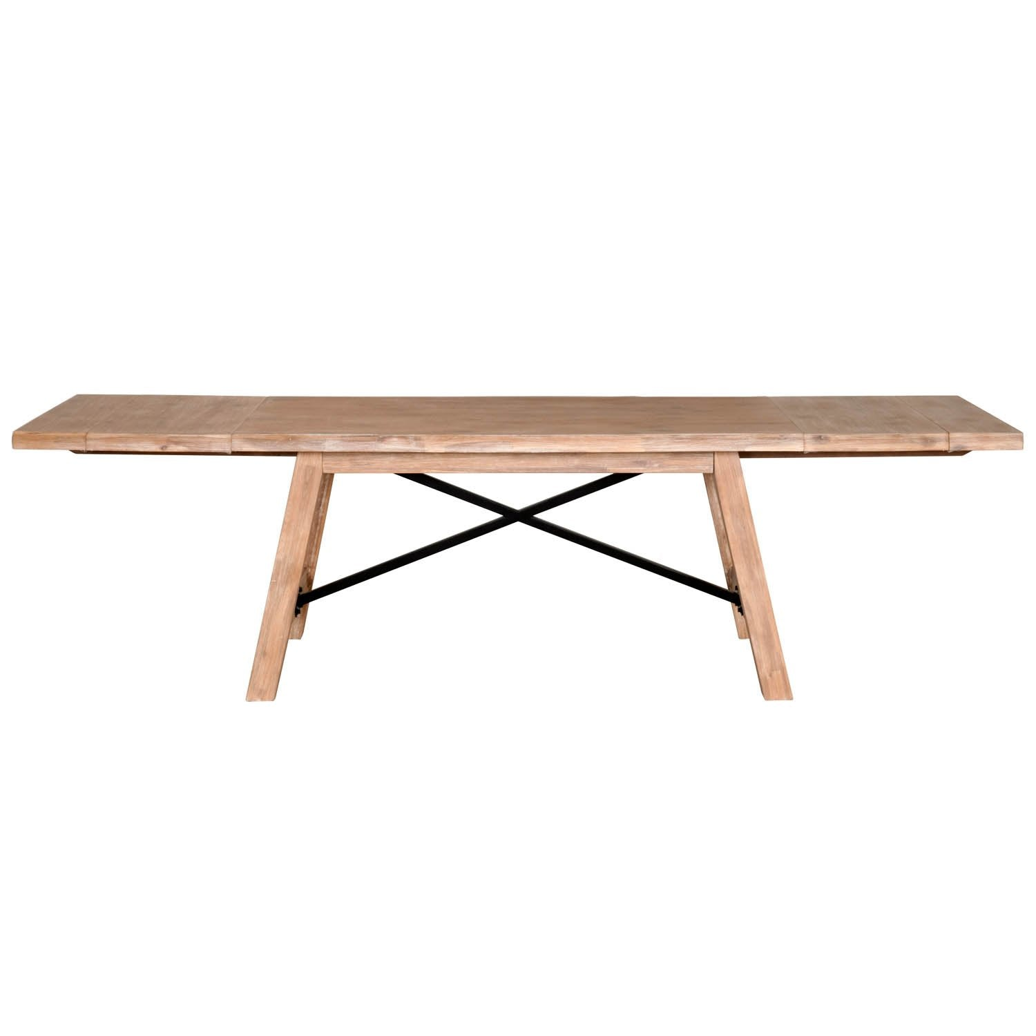 Nixon Extension Dining Table in Stone Wash
