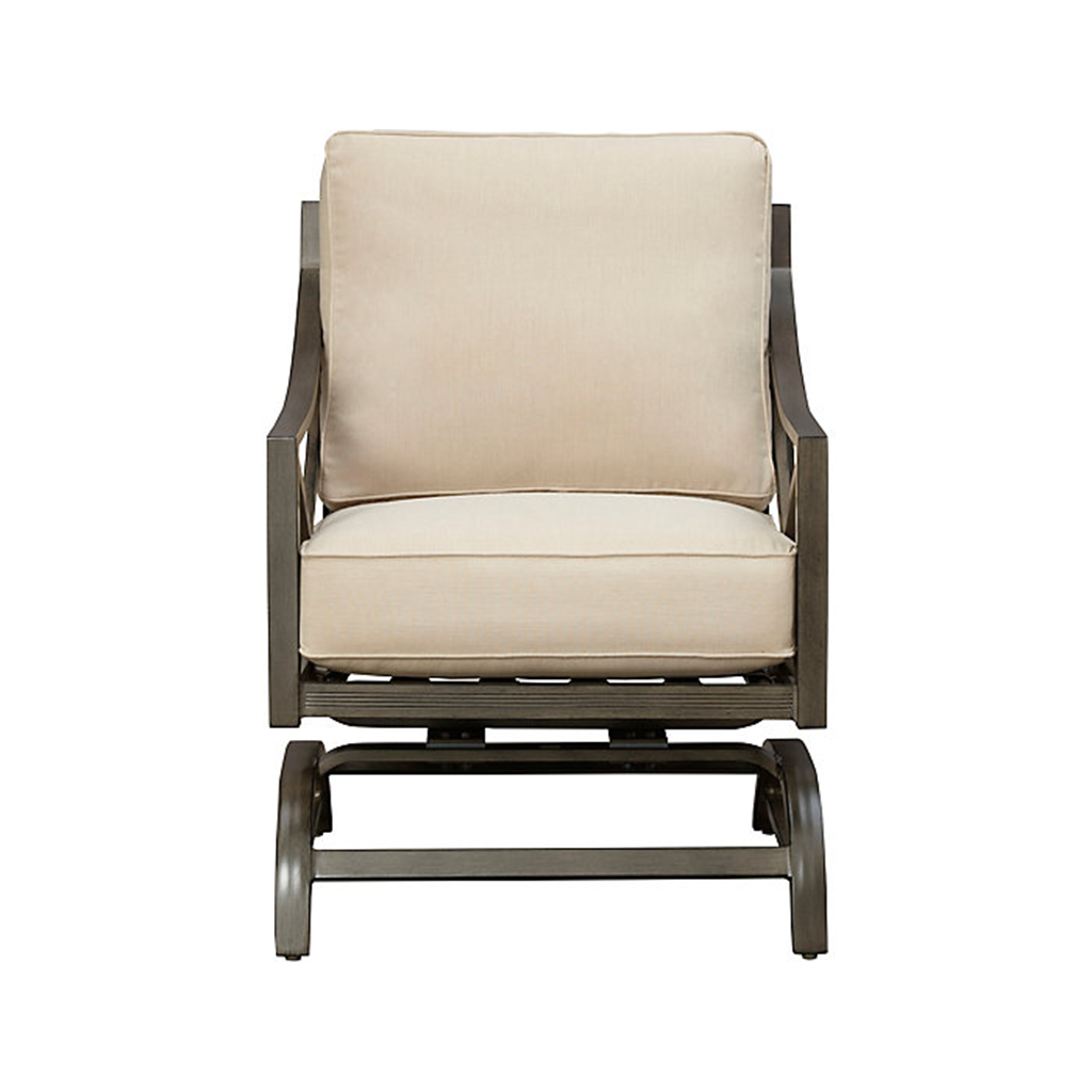 North Fork Woven Outdoor Spring Rocker