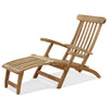 Teak Ocean Deck Outdoor Steamer Chair