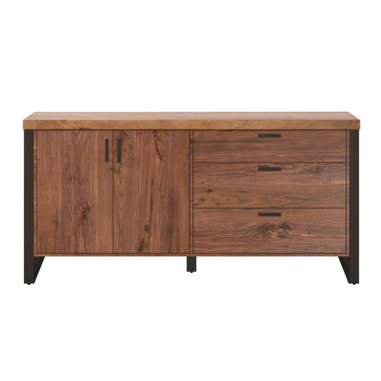 Origin Media Sideboard in Timber Brown